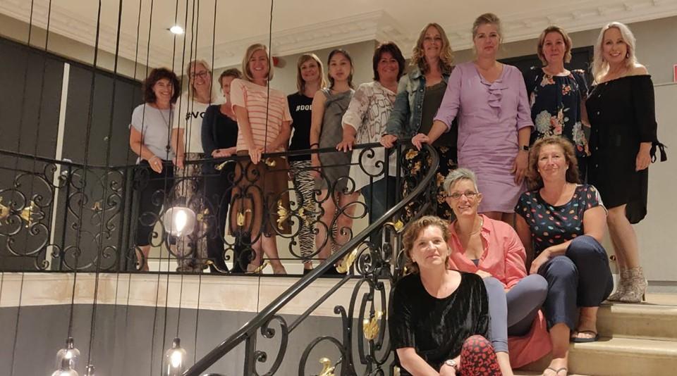 13 prachtige en krachtige vrouwen gingen de reis aan