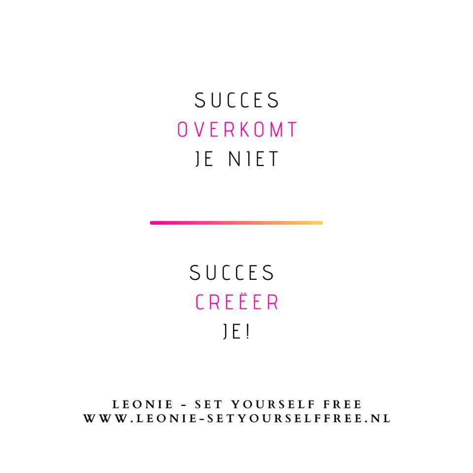 Succes overkomt je niet