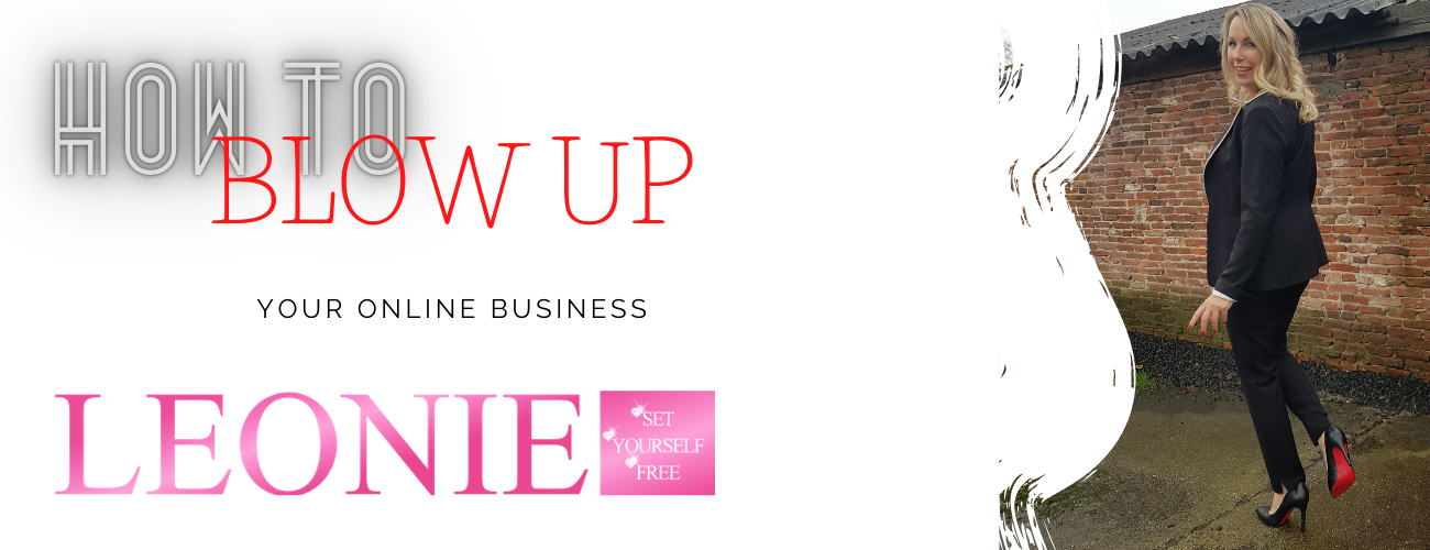 how to blow up your business - Leonie - Set Yourself Free